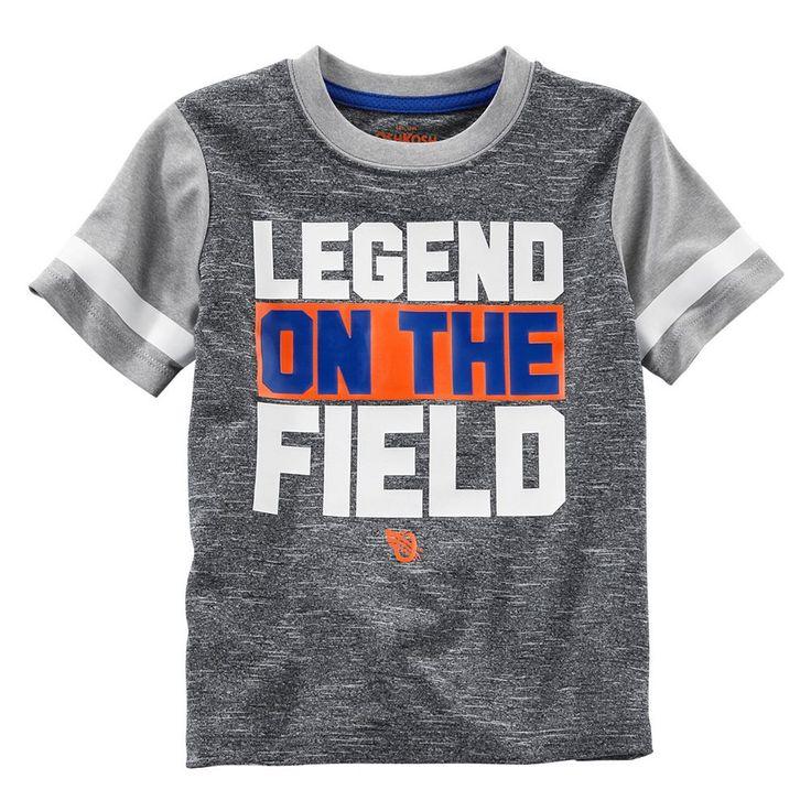 "Boys 4-8 OshKosh B'gosh® ""Legend On The Field"" Graphic Tee, Size: 6, Black"