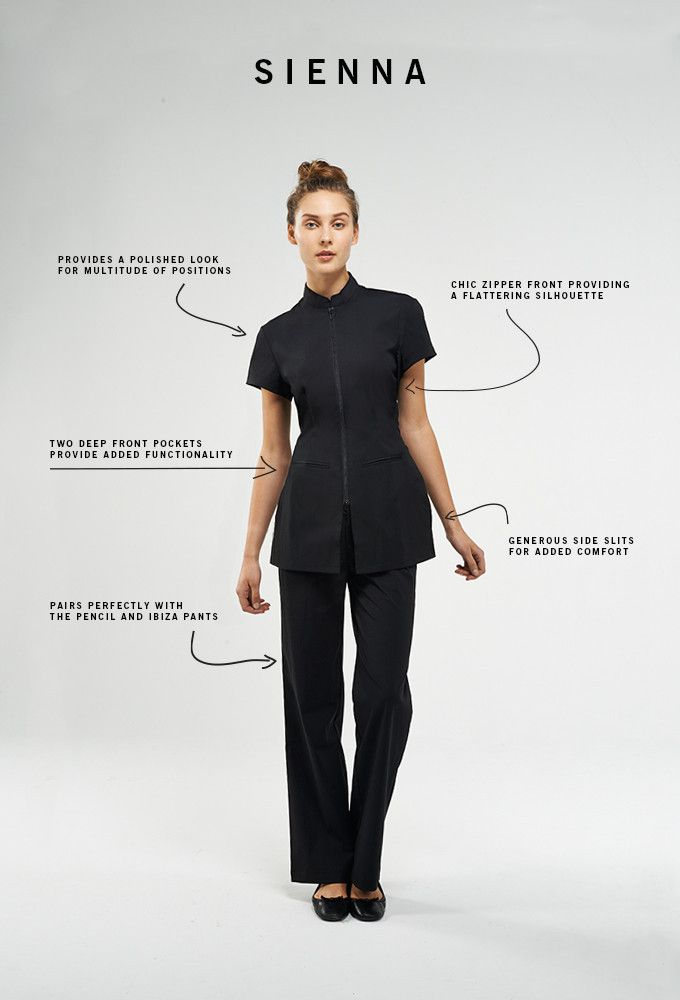14 best staff uniforms images on pinterest staff for Uniform for spa staff