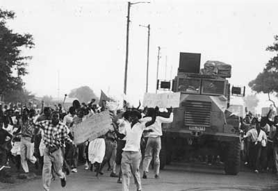 Soweto Youth Riots, 16 June 1976.
