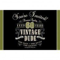 Vintage 60th Birthday Invitations (8pk) $10.50 20891667