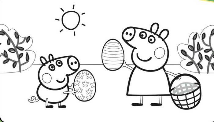 Printable Peppa Pig Coloring Pages Free Coloring Sheets