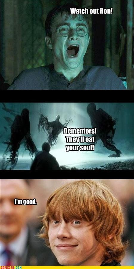 everyone knows gingers dont have souls :)