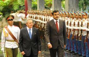 Recibe presidente de #Cuba #RaúlCastro al Emir de #Qatar http://www.radiocubana.cu/index.php/destacados/149-destacados/10954-recibe-presidente-cubano-raul-castro-al-emir-de-qatar