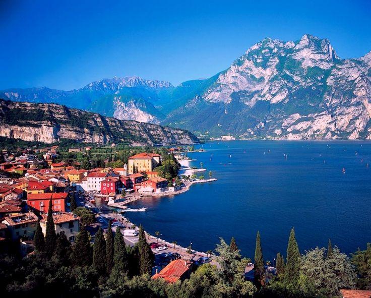 Taliansko, jazero Garda