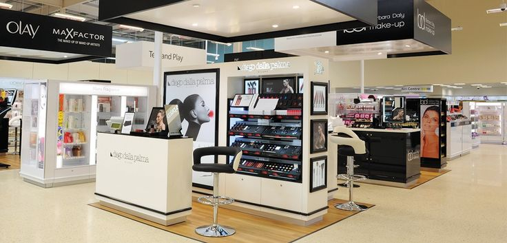 Tesco beauty in-store retail environment - designed & manufactured by Kesslers International.