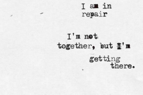 I am in repair