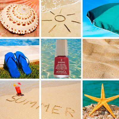 sole, mare e il nostro mini-color!
