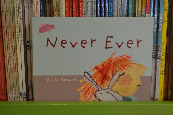 Kids Nook reads NEVER EVER #childrensbooks #childrens #books