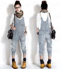 jeans latzhose damen