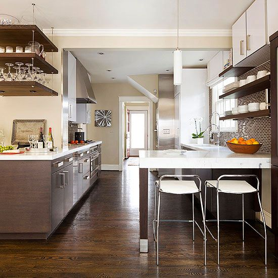 Galley Kitchen Layouts With Peninsula: 60 Best One Point Perspective Kitchen References For Drawing Images On Pinterest