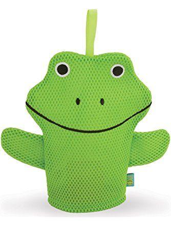 Wacky Wash Mitt - Frog ❤ Rich Frog