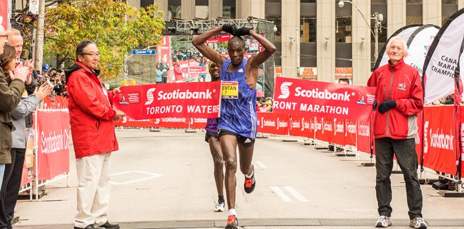 Competitive Fields Set for Scotiabank Toronto Waterfront Marathon - Canada Running Series