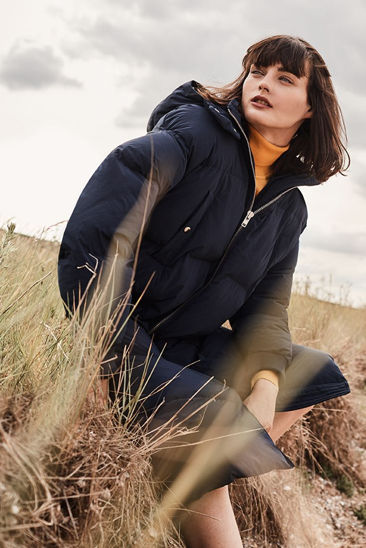 We got you covered for winter with this Samsoe & Samsoe down jacket.