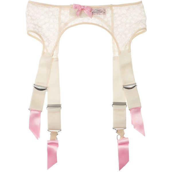 Agent Provocateur Sidonie floral lace suspender belt ($51) ❤ liked on Polyvore featuring intimates, lingerie, underwear, underthings, transparent lingerie, lace lingerie, sheer lingerie, agent provocateur lingerie and agent provocateur
