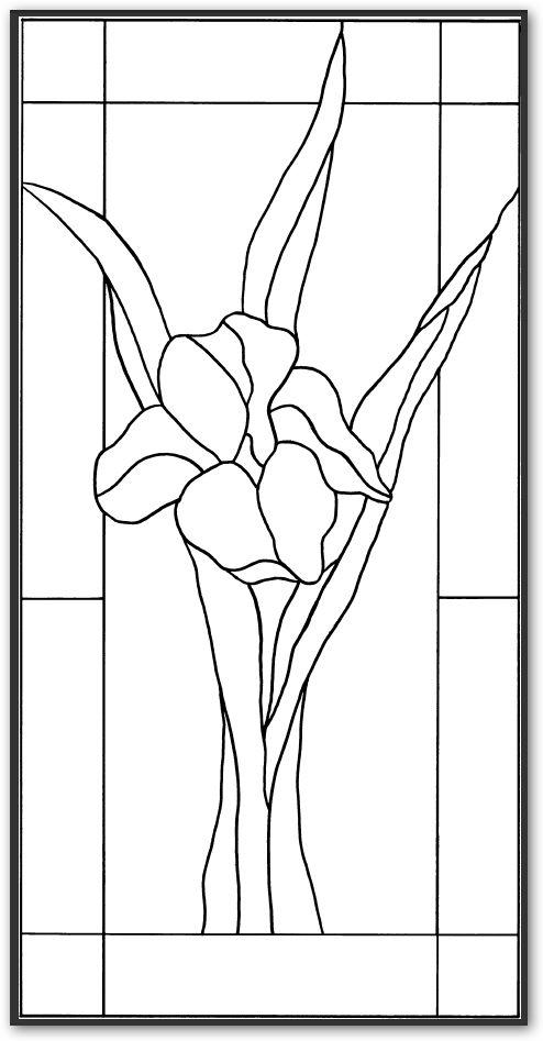 Panel para mosaico o vitral