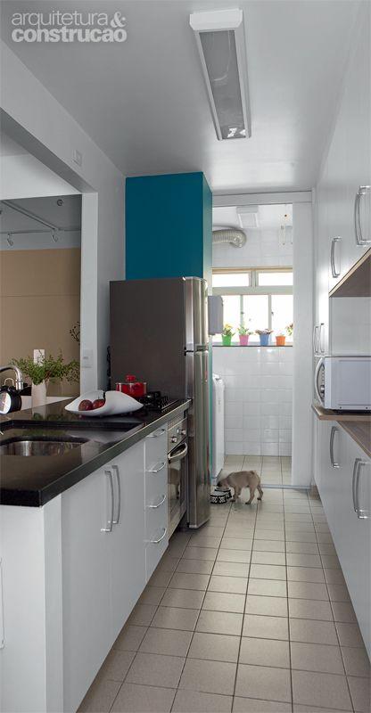 Apartamento é Construído E Remodelado Com Drywall. DrywallHome DesignSpacesKitchenKitchen  DecorHome ... Part 98