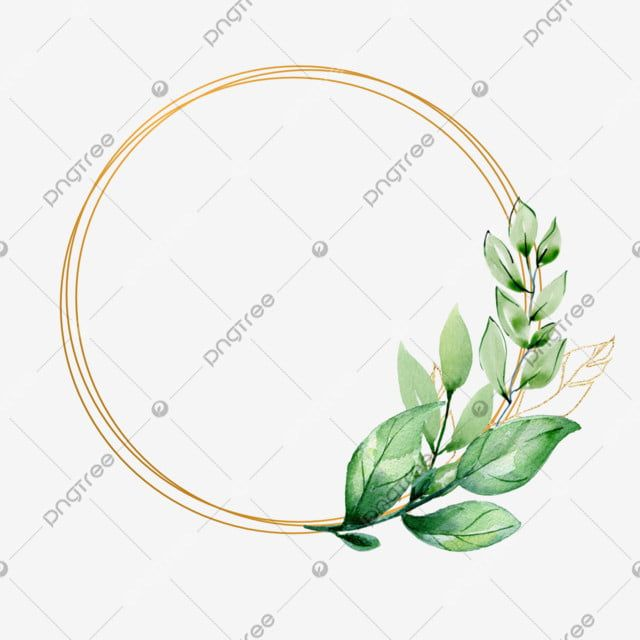Gold Frame Watercolor Flowers Hand Leaf Png Transparent Clipart Image And Psd File For Free Download Floral Watercolor Vintage Photo Frames Night Sky Wallpaper