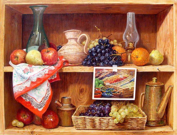 после установки натюрморт в кухню маслом фото одной них запечатлено