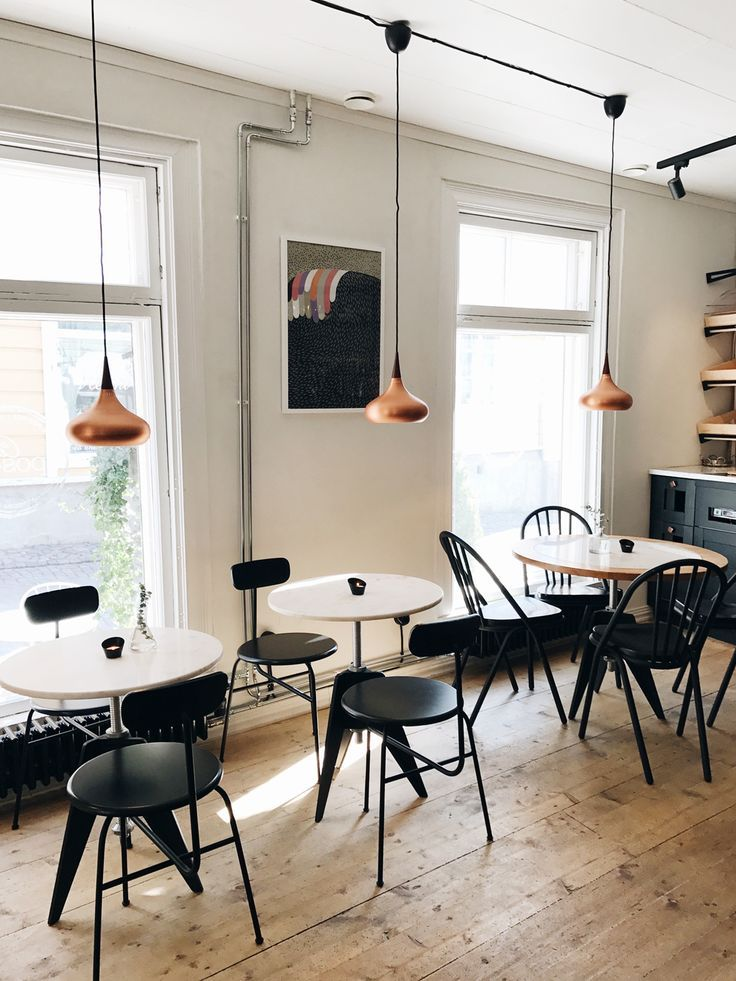 Cafe Postres Porvoo Finland Scandinavian Style On Coco Kelley Interior Scandinavian Restaurant Interior Design