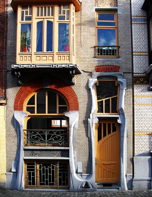 Art Nouveau Architecture, Brussels