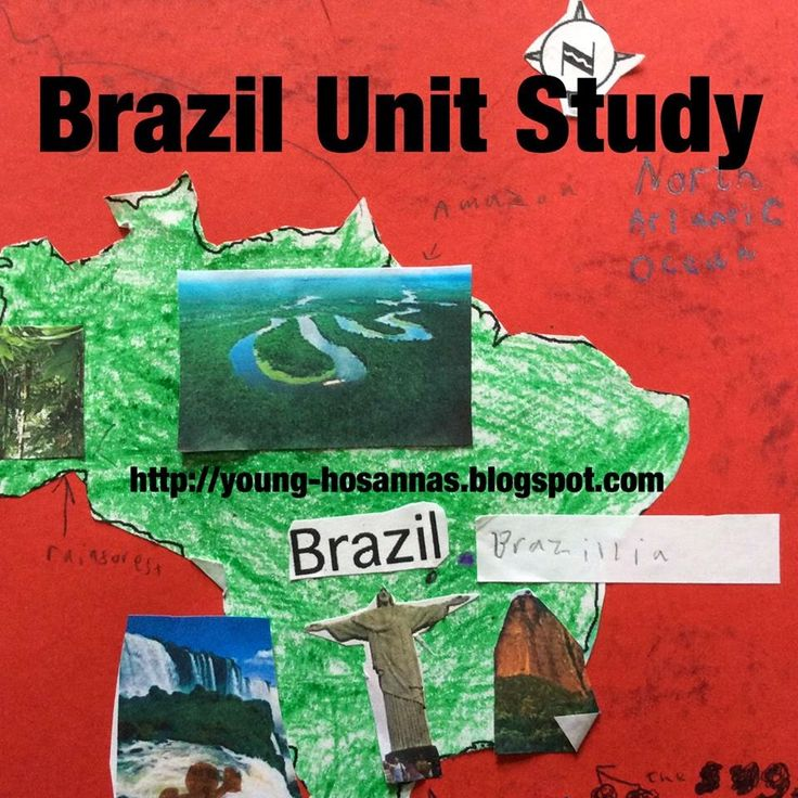 Brazil Geography Printables - FREE Printable Download