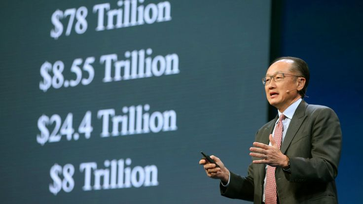 World Bank President Jim Yong Kim speaks during the Milken Institute Global Conference in Beverly Hills, California, U.S., May 1, 2017.