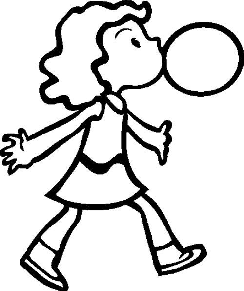 120 best images about cookie on pinterest coloring pages for Gum coloring pages