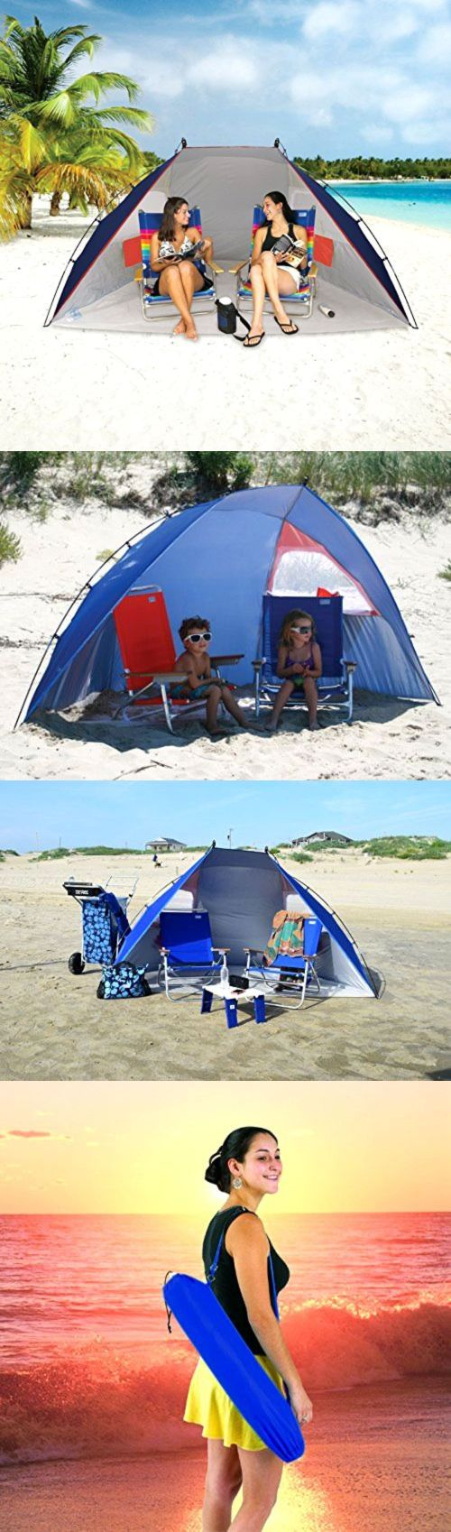 Canopies and Shelters 179011: Portable Sun Shelter Beach Umbrella Canopy Tent Sport Picnic Spf 50 Protection -> BUY IT NOW ONLY: $45.29 on eBay!