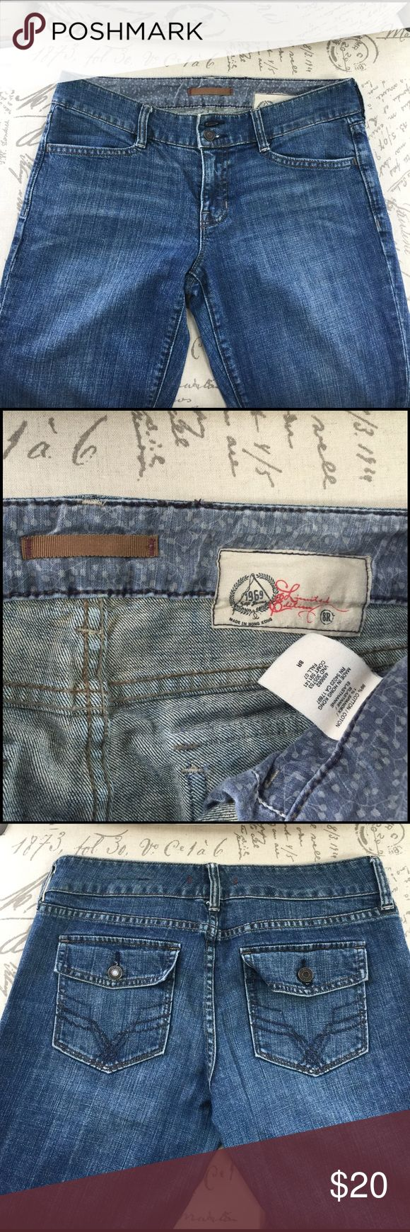"Gap 1969 Limited Edition Jean Gap Jeans 1969 Limited Edition Made in Hong Kong mid-rise Size 8R Inseam 30"" In great shape for older style boot cut Gap jeans. I hoped I'd be able to fit back into these. Only wear is seen on the bottom leg hem. But still has a lot of life. Get your self a great pair of boot cut jeans! GAP Jeans Boot Cut"