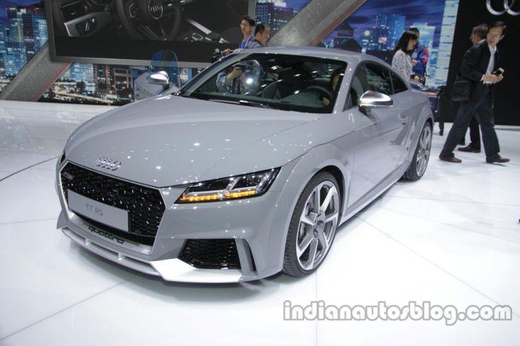 #Audi TT-RS Coupe - #AutoChina 2016