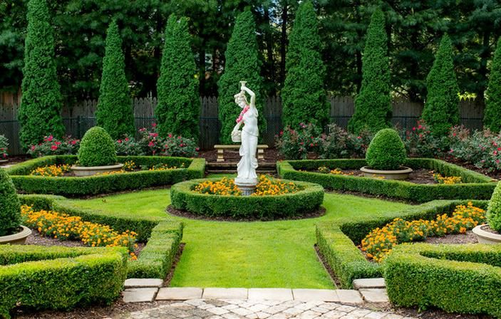 italian garden design - google
