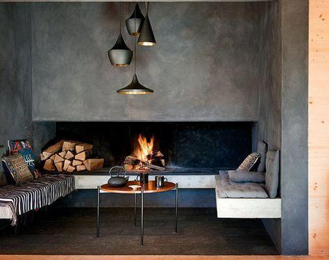 Oltre 25 fantastiche idee su caminetti moderni su for Camino a legna moderno