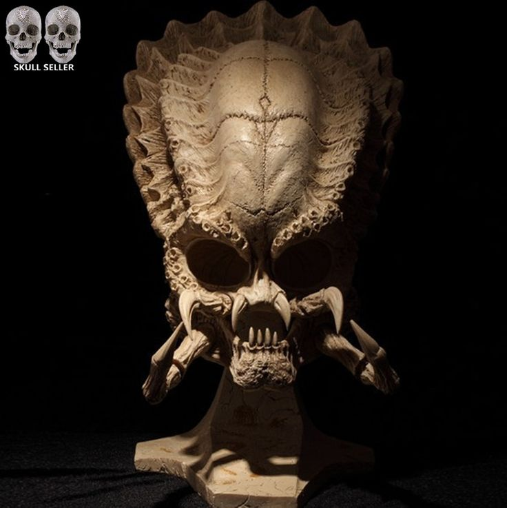 Aliexpress.com : Buy P Flame 2016 Predator VS Alien Skull Sideshow Classic Predator Skull Prop Replica Simulation Model For Collection Direct Sales from Reliable toy bouquet suppliers on handiworkshop