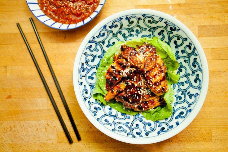 Bulgogi z kurczaka (Dak Bulgogi) – koreańskie BBQ