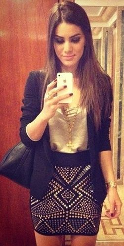 Love her outfit! <3
