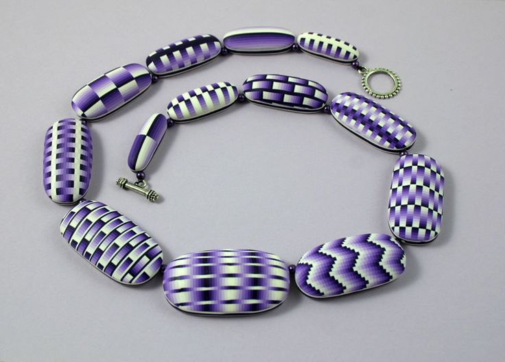polymer clay necklace | by carolineschüler1