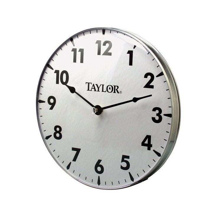 Taylor Wall Outdoor Clock