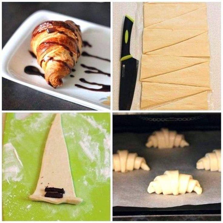 «Круассаны Круассаны на завтрак – это классика. Что может быть вкуснее свежего горячего воздушного круассана? Предлагаю вам рецепт классических круассанов.…»