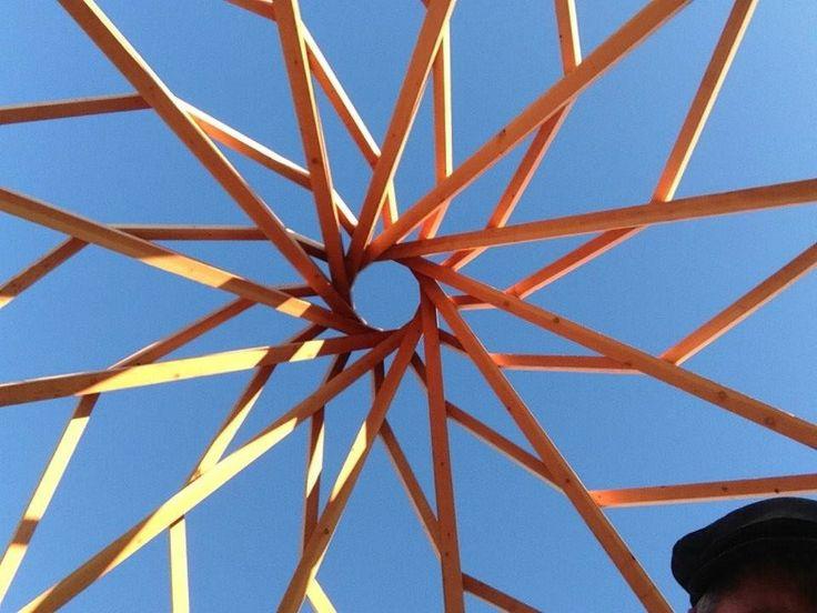 Stunning Reciprocal Roof Frame | Timber Frame & Reciprocal Roof Design