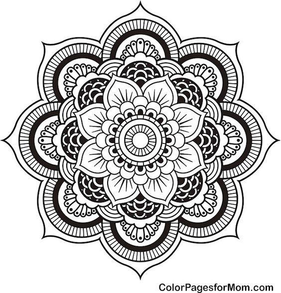 100 free coloring pages for adults and children:
