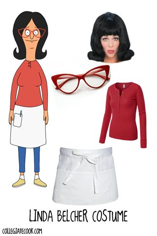 #Halloween13: Bob's Burgers Costume Ideas - How to get Linda Belcher's style