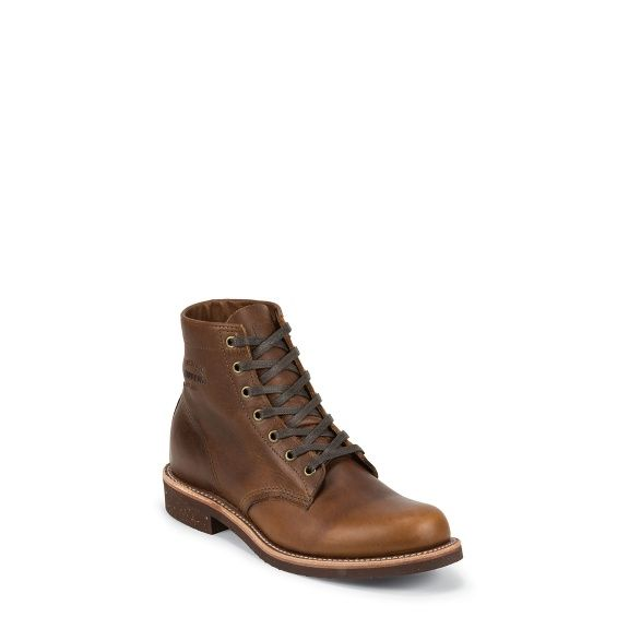 Chippewa - Tan Renegade General Utility Service Boots ($290)