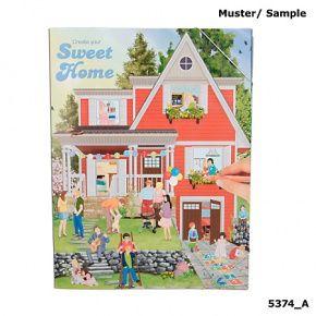 TopModel kreatív kifestő, Sweet Home lakástervező 4