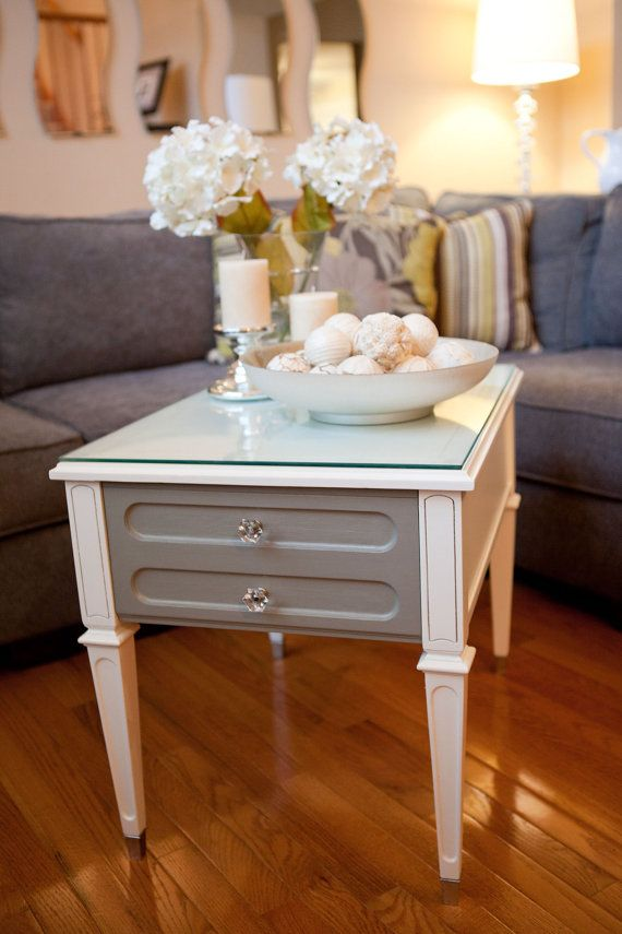 17 Best Ideas About White End Tables On Pinterest