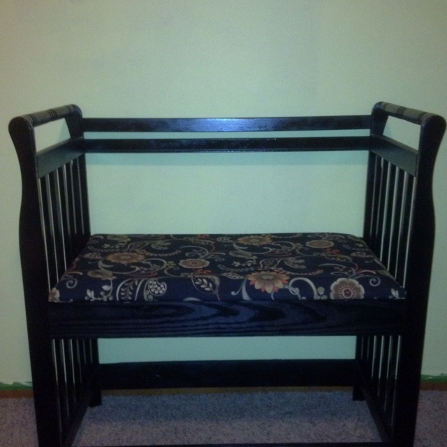 83 best made with cribs images on pinterest for Reuse furniture ideas