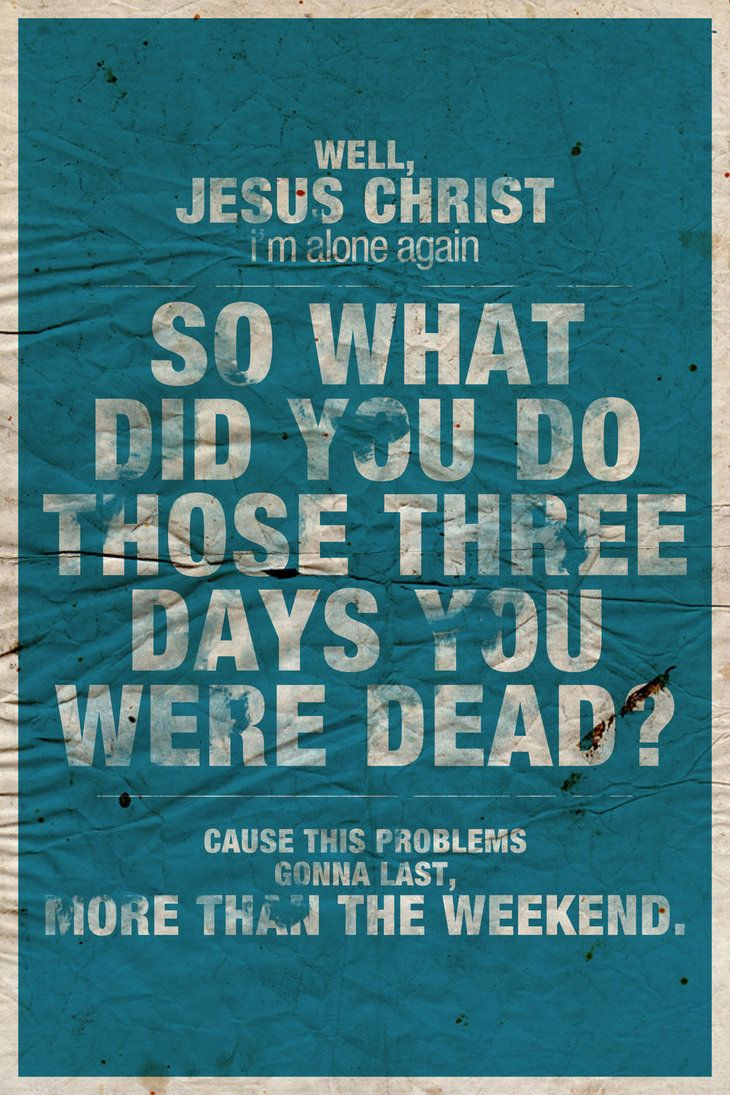 Brand New - Jesus Christ  Jesse Lacey gets me