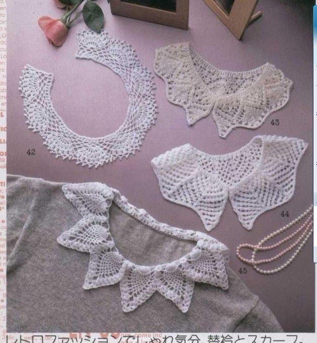 cuellos+crochet+sueltos+para+camisetas0.jpg (627×679)