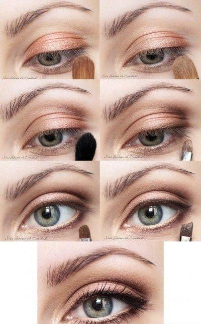 Maquiagem discreta (olhos) -para o dia a dia. – Tania Rubim