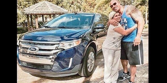 Dwayne Johnson le regala camioneta a una empleada #DwayneJohnson ...