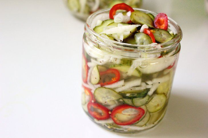 A Healthy Side That Helps With Weight Loss: Quick Pickle Recipe